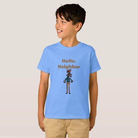 Hello Neighbour Funny kids shirt