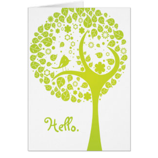Hello. Note Card