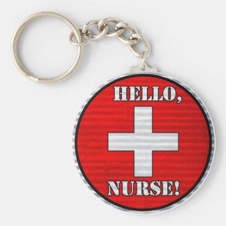 Hello, Nurse! Keychain
