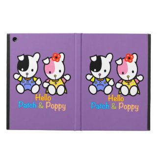 Hello Patch and Poppy Cover For iPad Air
