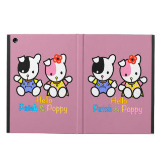 Hello Patch and Poppy iPad Air Cover