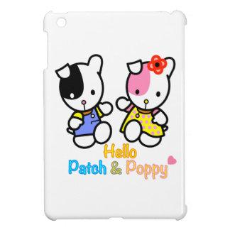 'Hello Patch and Poppy' ipad mini case