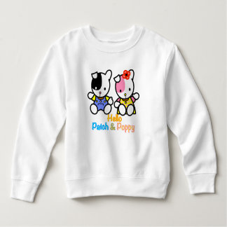 Hello Patch and Poppy Sweatshirt