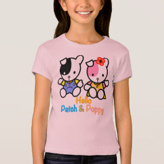 Hello Patch and Poppy T-Shirt