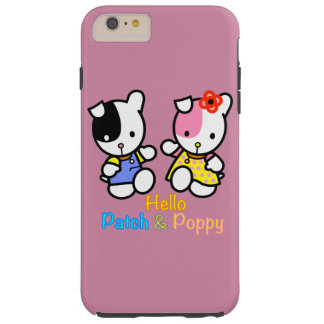 Hello Patch and Poppy Tough iPhone 6 Plus Case