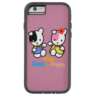 Hello Patch and Poppy Tough Xtreme iPhone 6 Case