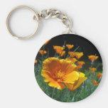 Hello Poppies Keychain