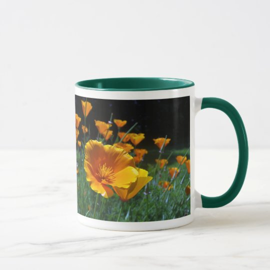 Hello Poppies Mugs