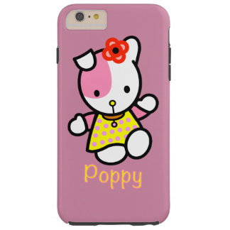Hello Poppy Tough iPhone 6 Plus Case