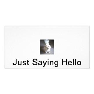 Hello Postcard Picture Card