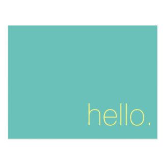 Hello, Postcard. Postcard