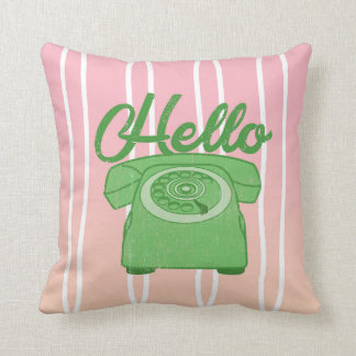 Hello Print Cushion