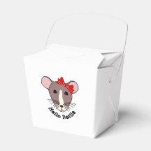 Hello Rattie Party Favour Boxes