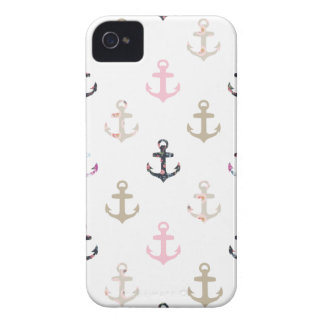 Hello Sailor! Retro Vintage Girly Nautical Anchors iPhone 4 Case