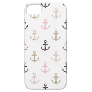 Hello Sailor! Retro Vintage Girly Nautical Anchors iPhone 5 Cases