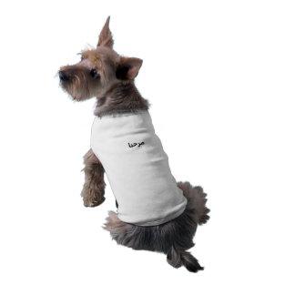 Hello Sleeveless Dog Shirt