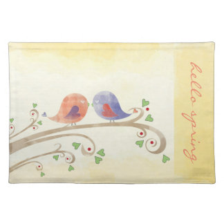Hello Spring Cloth Placemat