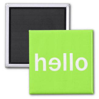 hello square magnet