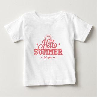 Hello Summer Baby T-Shirt