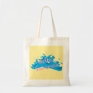 Hello Summer, Cool Graphic, Tote Bag