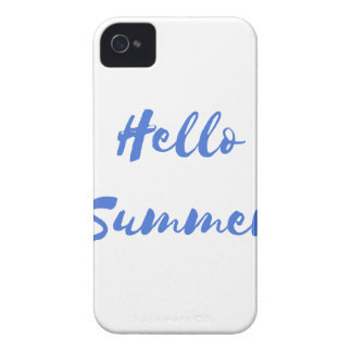 hello summer iPhone 4 Case-Mate cases