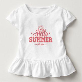 Hello Summer Toddler T-Shirt