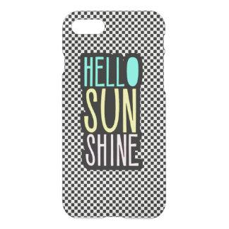 Hello Sun Shine Girly iPhone 7 Case