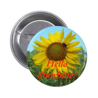 Hello Sunshine! 6 Cm Round Badge