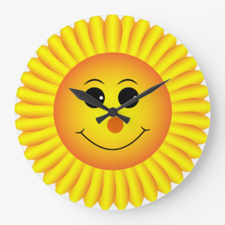 HELLO SUNSHINE  CLOCK