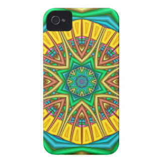 """Hello Sunshine!"", kaleidoscope abstract Case-Mate iPhone 4 Cases"