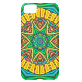 """Hello Sunshine!"", kaleidoscope abstract Case For iPhone 5C"