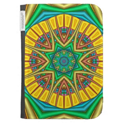 """""""Hello Sunshine!"""", kaleidoscope abstract Kindle Covers"""