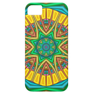 """Hello Sunshine!"", kaleidoscope abstract iPhone 5 Cover"