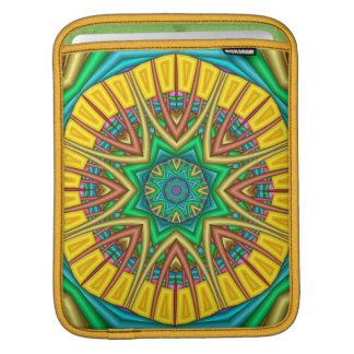 """""""Hello Sunshine"""",kaleidoscope abstract iPad sleeve"""