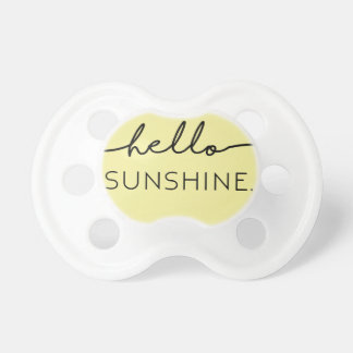 Hello Sunshine - Yellow Dummy
