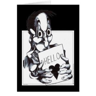 Hello Sweetheart Greeting Card