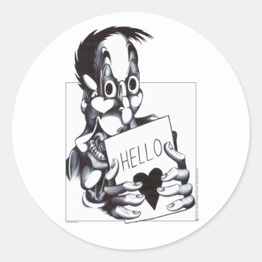 Hello Sweetheart Stickers