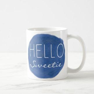 Hello Sweetie Basic White Mug
