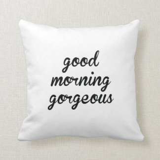 Hello There Handsome- Good Morning Gorgeous Pillow
