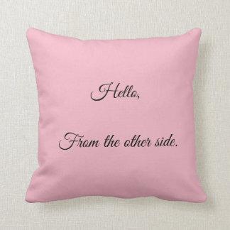 Hello Throw Cushion