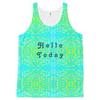 Hello today All-Over print tank top