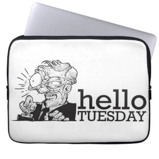 Hello Tuesday Laptop Computer Sleeves