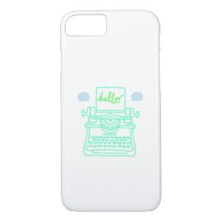 Hello Typewriter iPhone 7 Case