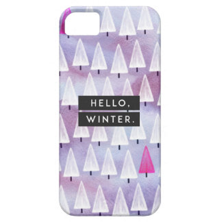 Hello, Winter iPhone 5 Cover