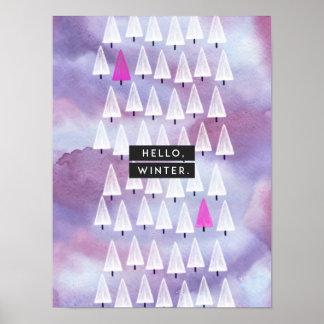 Hello, Winter: Print