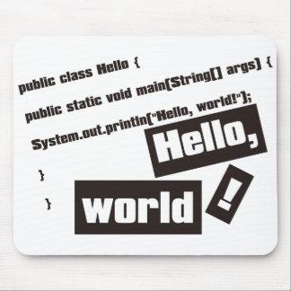 Hello, World! Mouse Pad