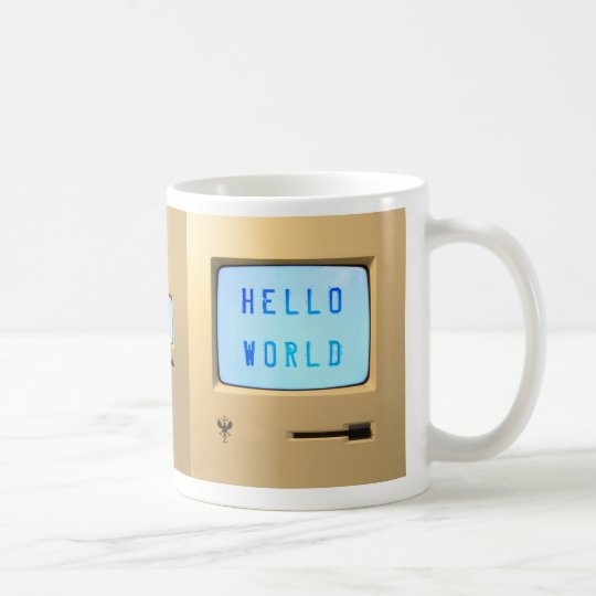 Hello World Personal Computer Coffee Mug