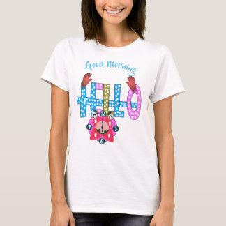 HELLO written t-shirt