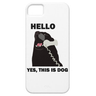 HELLO YES THIS IS DOG iPhone 5 COVERS