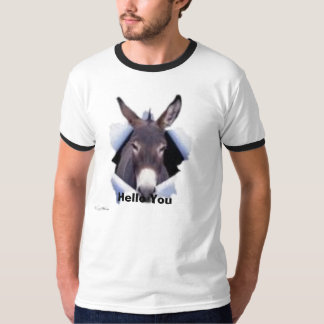 Hello You from your friend donkey T-Shirt